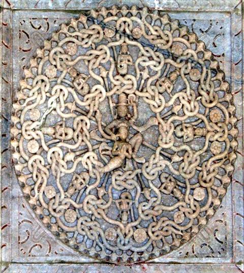 Parsvanath with 108 snakes around him !