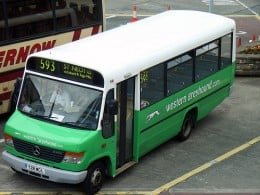 RTTS, Western Greyhound buses provide a regular bus service to the VW Newquay location.