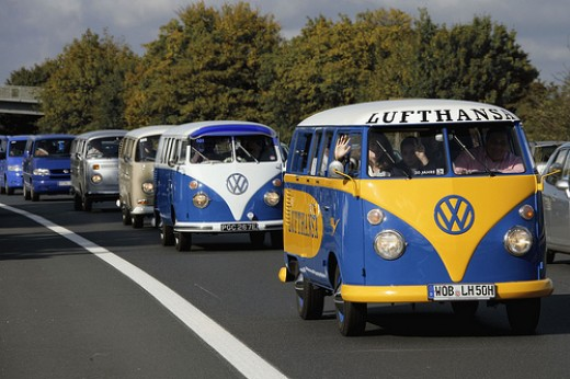 VW Convoy to VW Newquay / Run to the Sun