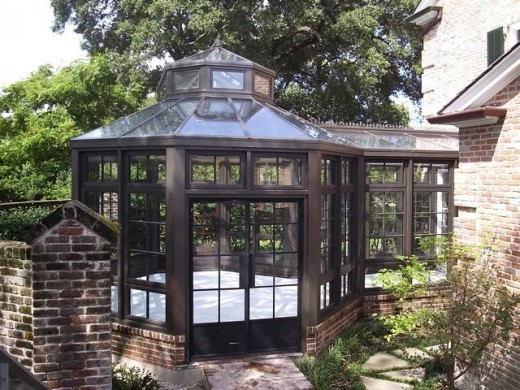Luxury Custom Greenhouse pictures by Southern Greenhouses