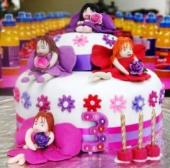 Cake Decorating Techniques - Covering a Cake with Fondant ...