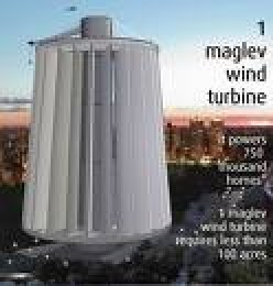 The Maglev Wind Turbine