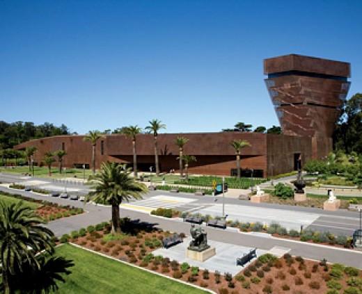 Fine Arts Museum (De Young Bldg. San Francisco)