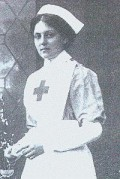 Violet Jessop served on all three Olympic class ships. She was a stewardess on Olympic and Titanic, and a nurse on Britannic.