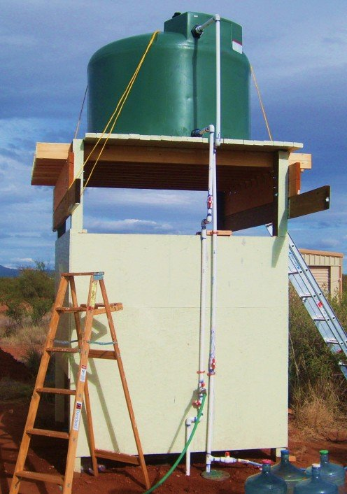 How To Build A Water Tower Or Outdoor Shower Truth Is