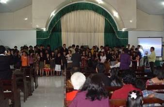 Minahasa Thanksgiving in the Church