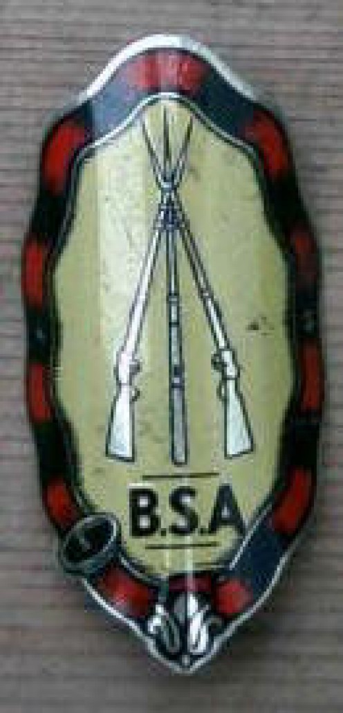 The BSA badge