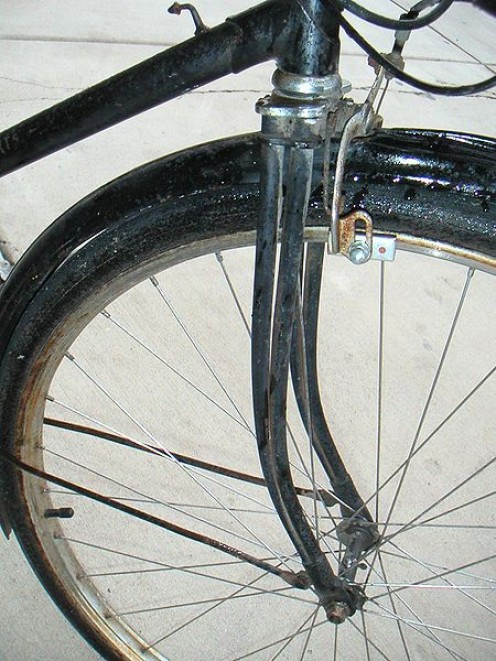 "The Humber ""Duplex"" front fork"