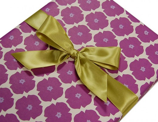 Gift wrapping your presents: Ideas for you to use