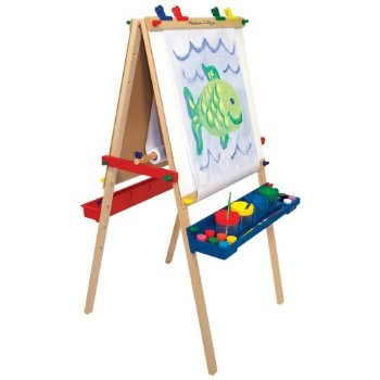 Melissa and Doug Stand Art Easel for the young artists.