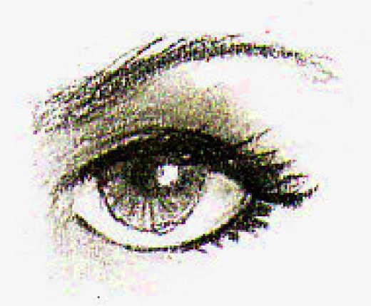 Eye exercise in pencil by Robert A. Sloan