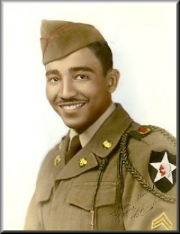 He served with distinction and won a Purple Heart.