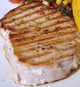 how to cook shark steak in a pan