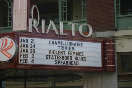 Tucson's Rialto Theater in daytime