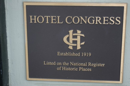 Hotel Congress is a National Landmark