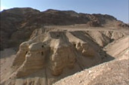 Caves of the Dead Sea Scrolls (Qumran, near the Dead Sea)