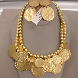 Kenneth Jay Lane Fashion Earrings & Necklace  $44.98 compare at $73.00