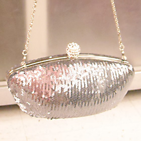 Expressions NYC Silver Purse  $19.99 compare at $32.00