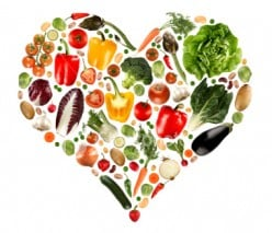 Start at the heart of health with great food choices.