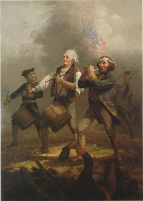 Were the colonists of the Revolutionary War wrong to fight a war to displace their ruling government?