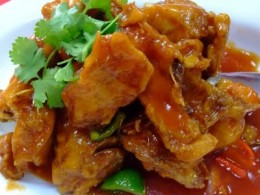 Here is a delicious sweet and sour tilapia that every one is sure to love.