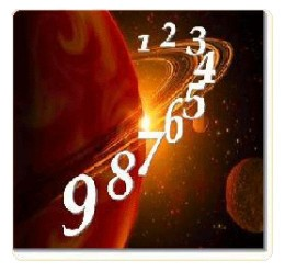 The Ruling Planets and their Numerology Numbers and Body Parts representing the 12 Zodiac Signs