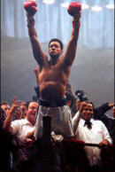 muhammad ali in victory pose