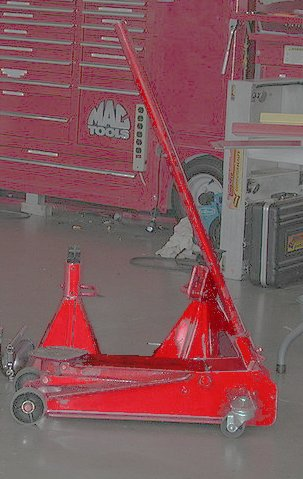 Hydraulic Jack and Jack-Stands