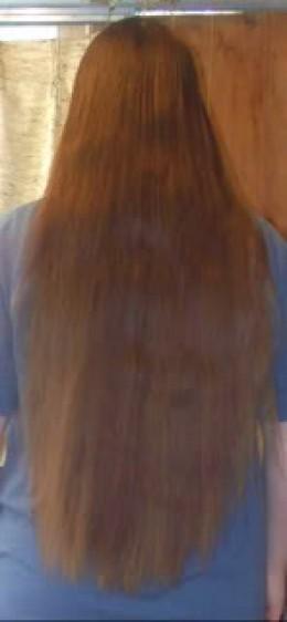 2008...the same hair, now healthy