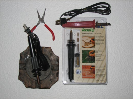 Basic Woodburning Tools