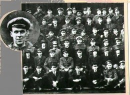 WWI squadron picture where Freddy Jackson shows up for the picture two days after he died. Top row, fourth from the left.