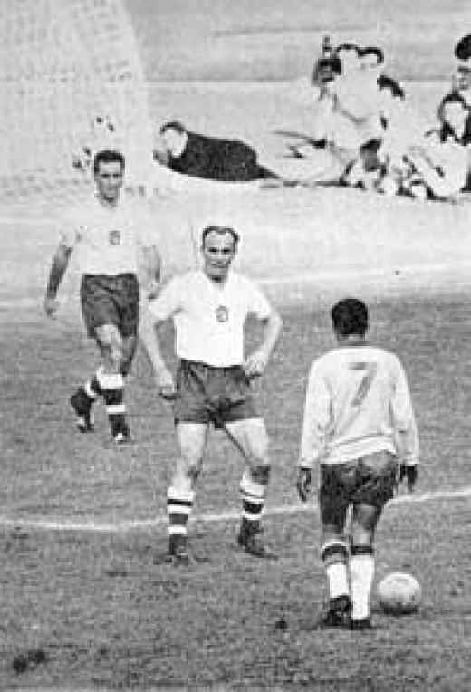 Final against Czechoslovakia