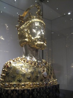 Bust of Charlemagne (Charles the Great), King of the Franks and Emperor of the Holy Roman Empire