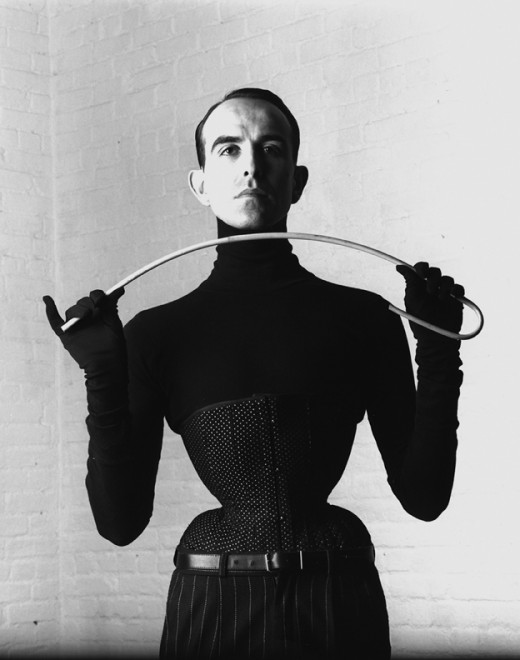 Mr Perl, the famous corseteir
