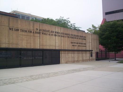 Baltimore's moving Holocaust Memorial