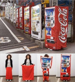 Coke Machine Costume