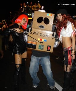 Costume Made from a Box