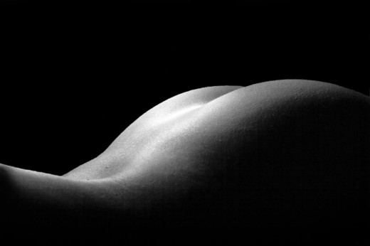 Fine art nude photography is very different from typical glamour and boudoir ...