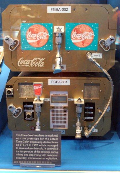 Coke in Space