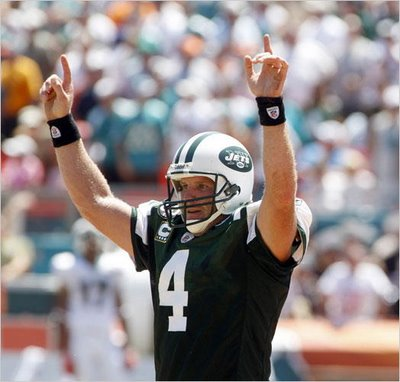 Brett Favre was named player of the week after a huge game in week four...of the 2008 season.