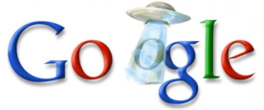 Google UFO Logo