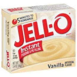 You want the Instant brand of Vanilla Pudding Mix and you want to make sure your milk is really cold.