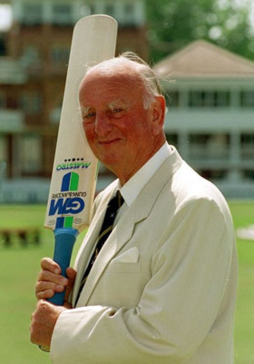 Brian Johnston Cricket Commentator
