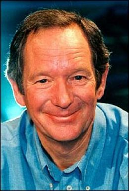 Michael Buerk Newsreader