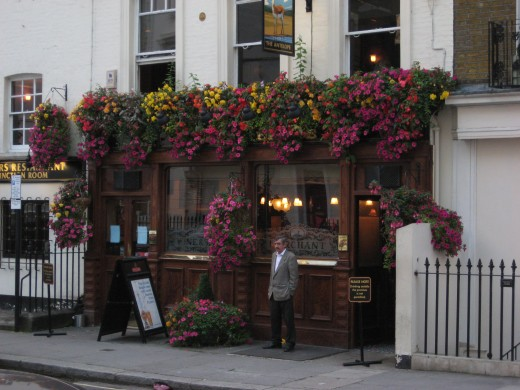 Another nice pub in Belgravia.