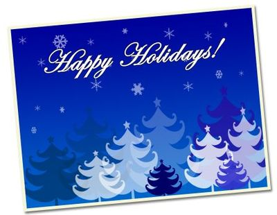 Corporate or business christmas greeting cards hubpages happy holidays business christmas card example m4hsunfo