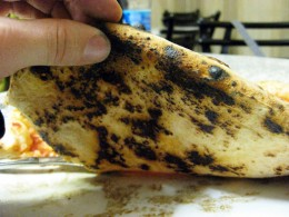 If there isn't wood fired char and bits of charcoal on the base, it's not pizza crust... it's flatbread!