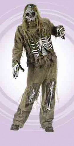 Zombie Halloween Costume