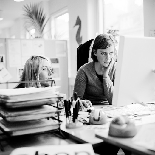Freelance Jobs: Working Women Photo by: Rsms