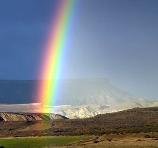Rainbows stir the eternal set within us.